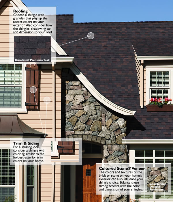 Owens corning roofing choosing the right roof colour for What color roof should i get for my house